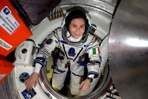 An undated handout photo provided by the National Aeronautics and Space Administration (NASA) on 08 June 2015 of European Space Agency (ESA) astronaut Samantha Cristoforetti, of Italy, checking her Sokol pressure suit in preparation for the Expedition 43 crew's departure from the International Space Station ISS after 6 1/2 months in space. Since 06 June 2015, Cristoforetti holds the record for the longest single spaceflight for a woman, a record previously held by NASA astronaut Sunita Williams with 195 days after Expedition 33. Cristoforetti also holds the record for the longest uninterrupted spaceflight of an ESA astronaut, NASA said in its press release. Cristoforetti and fellow Expedition 43 crew members Terry Virts of NASA and Anton Shkaplerov of Roscosmos are scheduled to return to Earth on 11 June 2015.  ANSA/ESA/NASA/HANDOUT MANDATORY CREDIT: ESA/NASA HANDOUT EDITORIAL USE ONLY