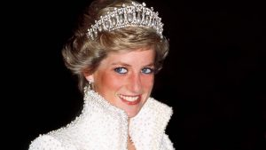 FILE - 27 AUGUST 2012 for ANNIVERSARY AUGUST 31: On Friday, August 31st Diana, Princess of Wales was killed in an automobile crash in Paris, France 15 years ago in 1997. Please refer to the following profile on Getty Images Archival for further imagery. http://www.gettyimages.com/Search/Search.aspx?EventId=119776964&EditorialProduct=Archival#esource=maplinARC_uki_aug12 HONG KONG - NOVEMBER 10: Princess Of Wales In Hong Kong Wearing An Outfit Described As The Elvis Look Designed By Fashion Designer Catherine Walker. Tour Dates 7-10 November. (exact Day Date Not Certain) (Photo by Tim Graham/Getty Images)