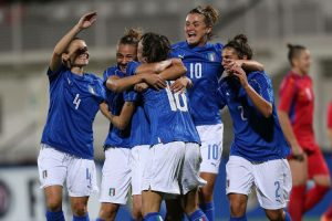 Italy v Moldova - 2019 FIFA Women's World Cup Qualifier